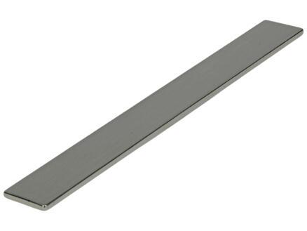 Sam Poignée de meuble plat 96-128mm chrome brillant