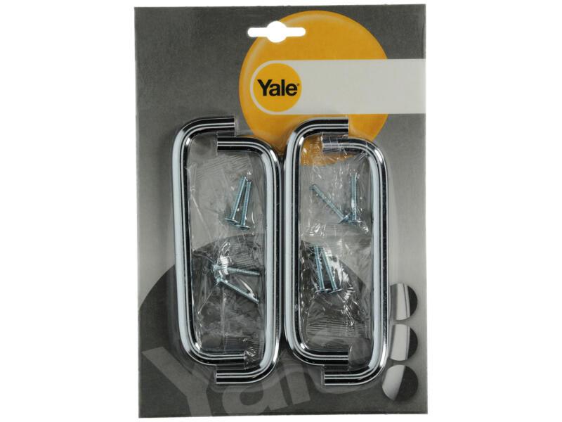 Yale Poignée fil 10x128x138 mm 4 pièces