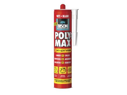 Bison Poly Max Express montagelijm 425g wit