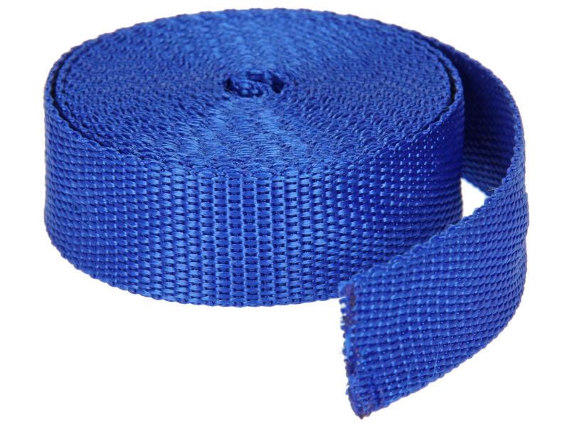 Sam Polyamideband 4m blauw