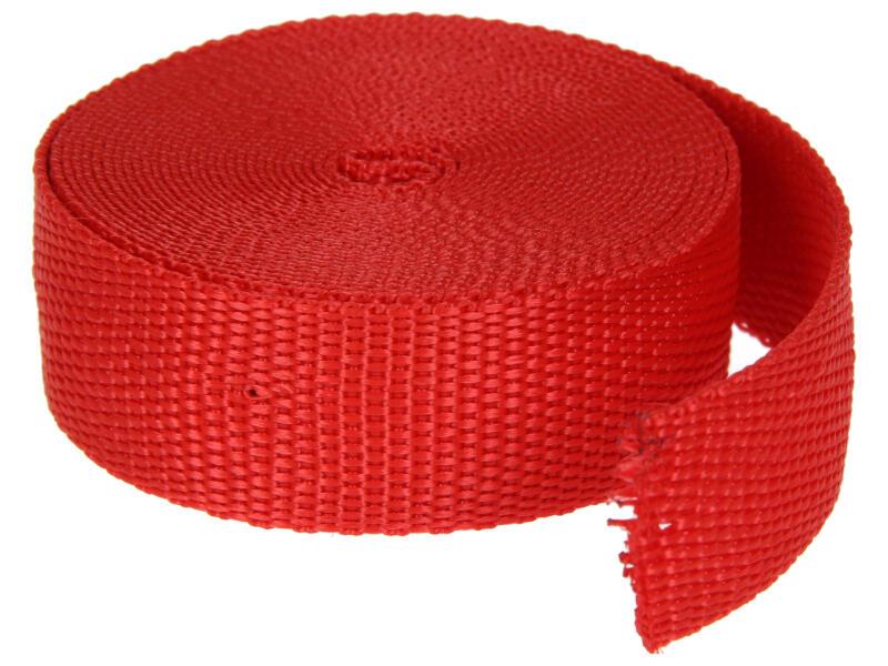 Sam Polyamideband 4m rood