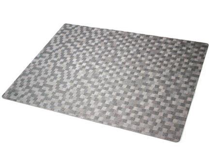 Placemat 30x43cm (12),  dijon slvr