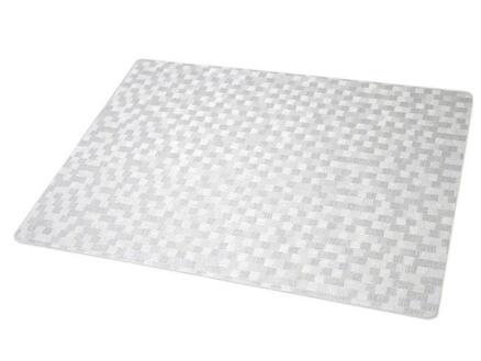 Finesse Polyline placemat 43x30 cm dijon white