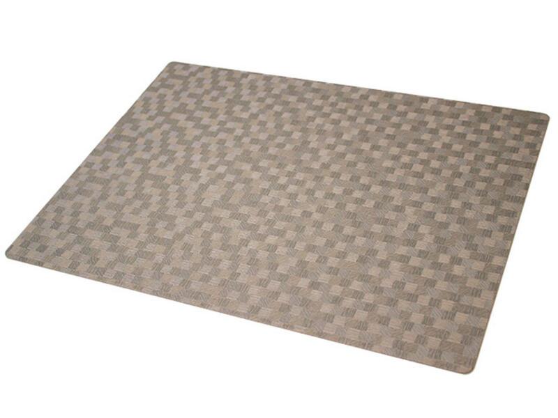 Polyline set de table 43x30 cm dijon taupe