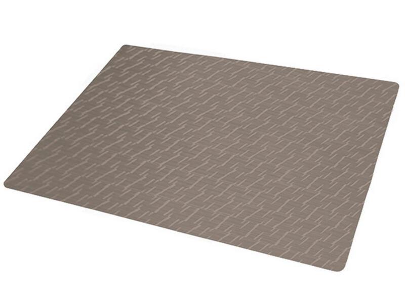 Finesse Polyline set de table 43x30 cm jaspe taupe