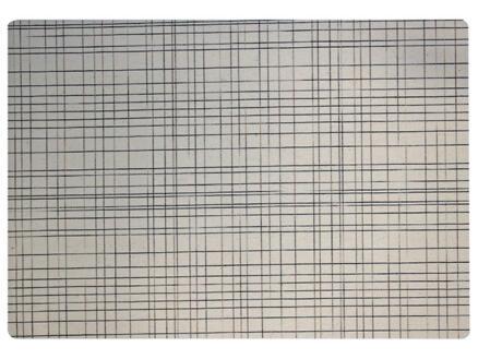 Finesse Polyline set de table 43x30 cm luca ecru
