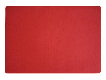 Finesse Polyline set de table 43x30 cm rouge