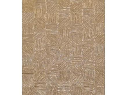 Finesse Polyline toile cirée 140cm x 15m dijon beige