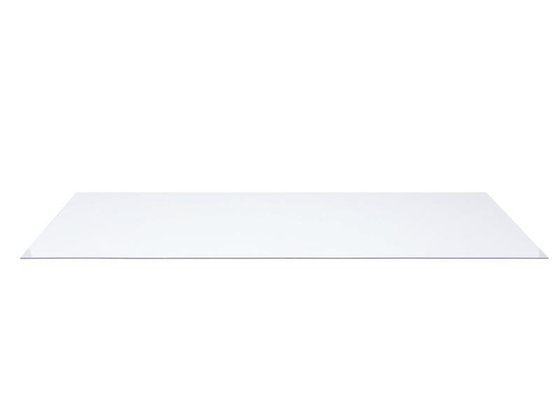 Polystyreen plaat 100x200 cm 4mm transparant