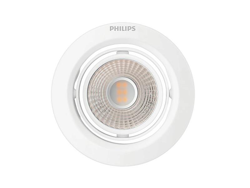 Philips Pomeron spot LED encastrable 7W dimmable blanc