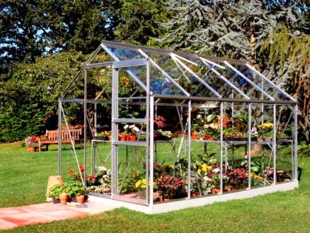Halls Popular 106 serre verre d'horticulture