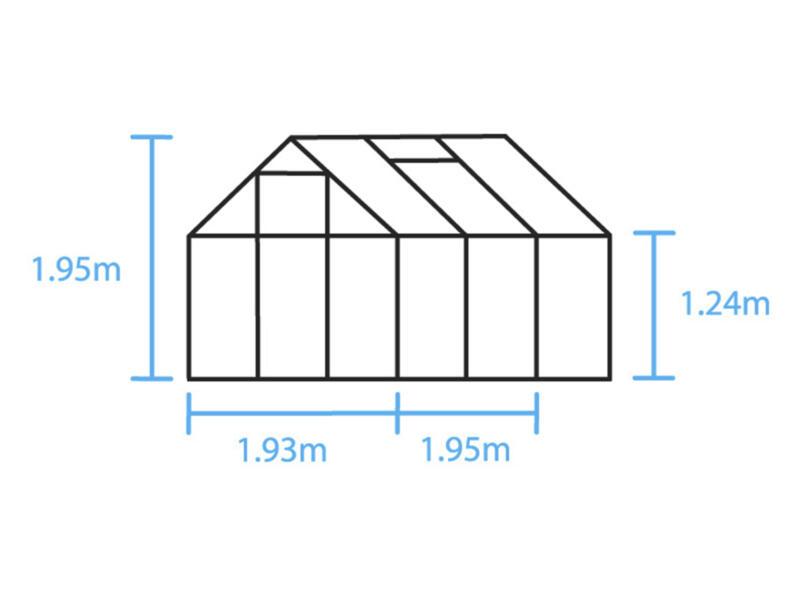 Halls Popular 66 serre polycarbonate