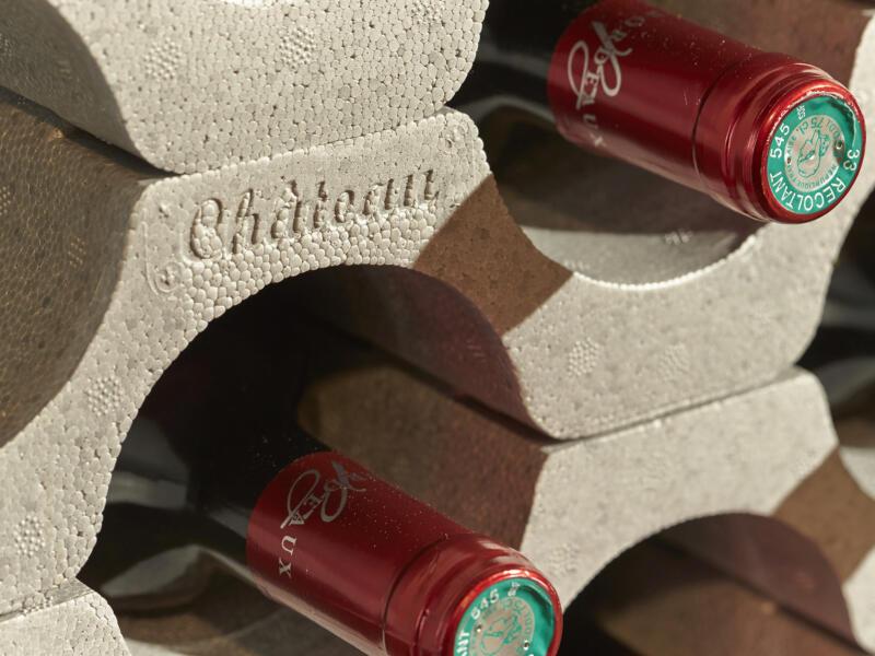 Mottez Porte-bouteilles 9 bouteilles