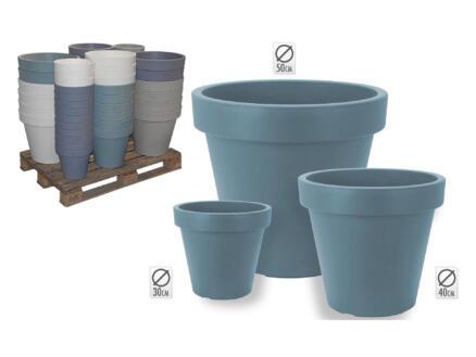 Pot à fleurs 30cm disponible en 4 couleurs