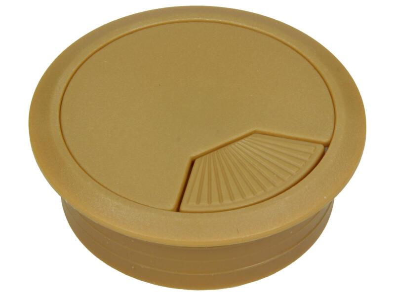 Pot passe-câbles 60mm beige