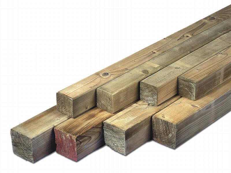 Poteau 210x6,8 cm carré