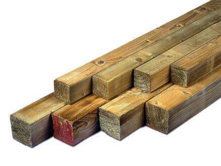 Poteau 240x8,8 cm carré