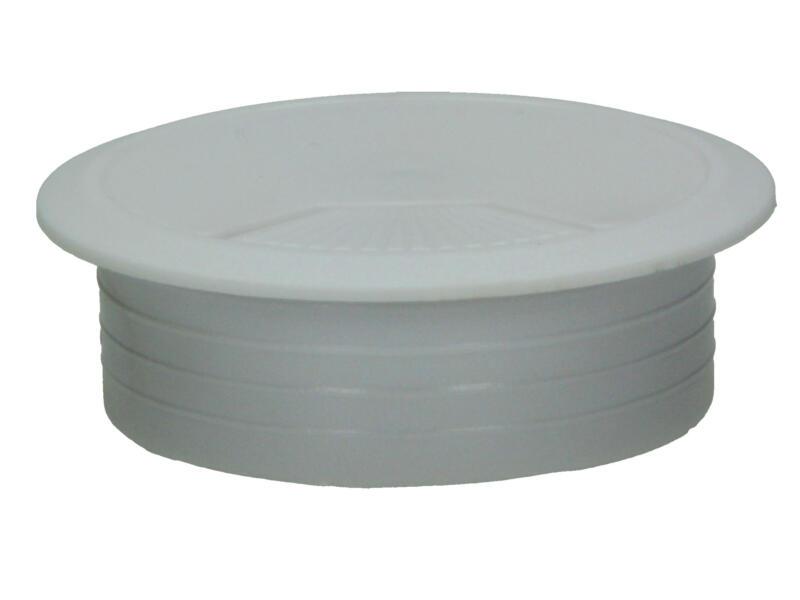 Potje voor kabeldoorvoer 60mm wit