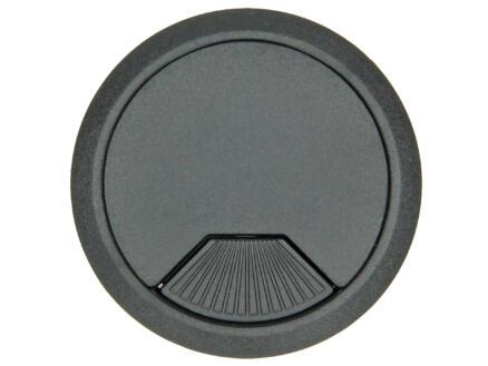 Potje voor kabeldoorvoer 60mm zwart
