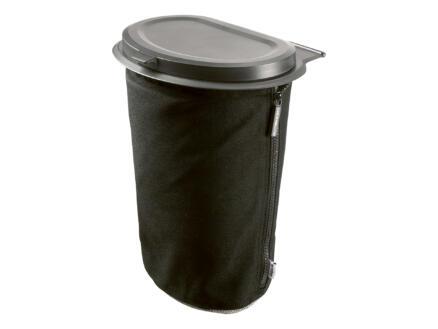 Flextrash Poubelle portable M 5l noir