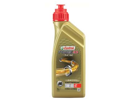 Castrol Power RS Racing huile moteur 4 temps 5W-40 1l