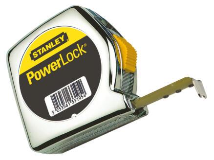 Stanley Powerlock rolmeter 8m