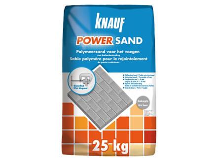 Knauf Powersand 25kg gris foncé
