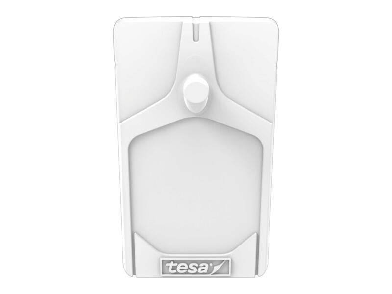 Tesa Powerstrips klevende spijker voor tegels en metaal 5cm 2kg wit 2 stuks