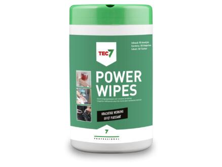 Tec7 Powerwipes lingettes nettoyantes 50 pièces