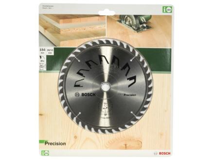 Bosch Precision cirkelzaagblad 184mm 40T hout