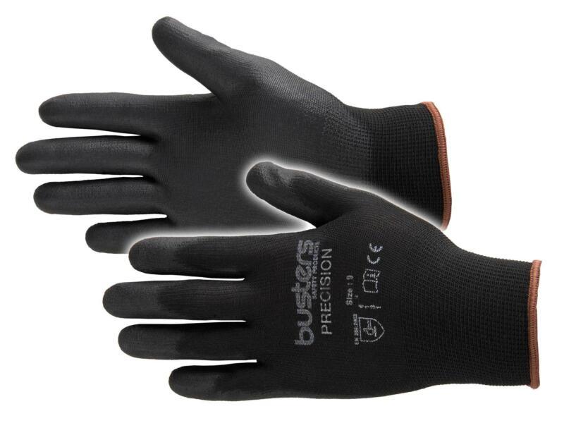 Busters Precision gants de travail XL PU-flex noir