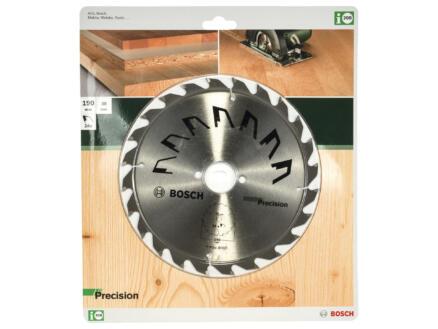 Bosch Precision lame de scie circulaire 190mm 24D bois