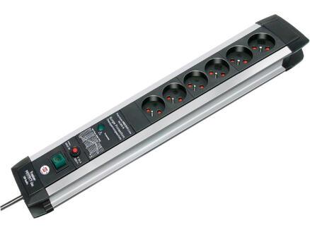 Brennenstuhl Premium-Protect-Line bloc multiprise 6x avec interrupteur et câble 3m noir