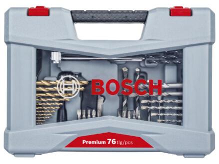 Bosch Premium X-Line boren- en bitset 76-delig