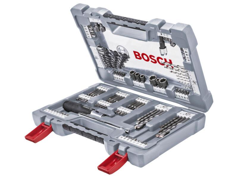 Bosch Premium X-line coffret de forets et d'embouts 105 pièces