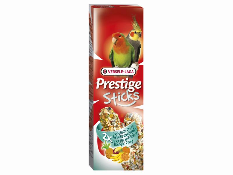 Prestige Sticks Exotisch Fruit grote parkieten 2 stuks 140g