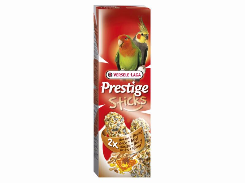 Prestige Sticks Noix & Miel grandes perruches 2 pièces 140g