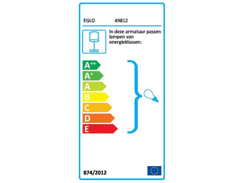 Eglo Preswick tafellamp E27 max. 60W grijs
