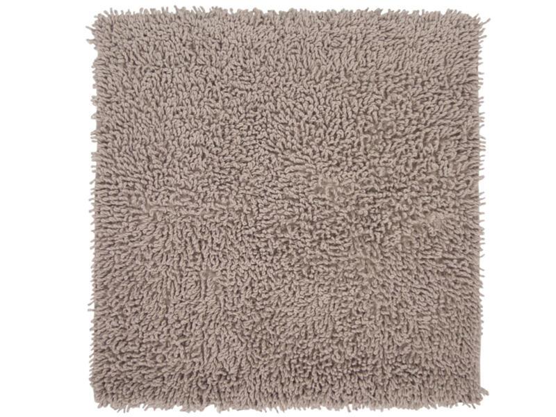 Differnz Priori tapis de bain 60x60 cm taupe