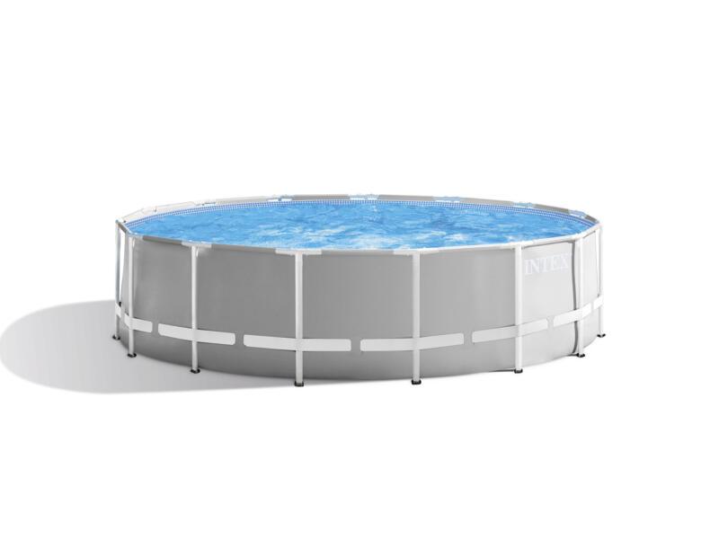 Intex Prism Frame zwembad 457x122 cm + pomp