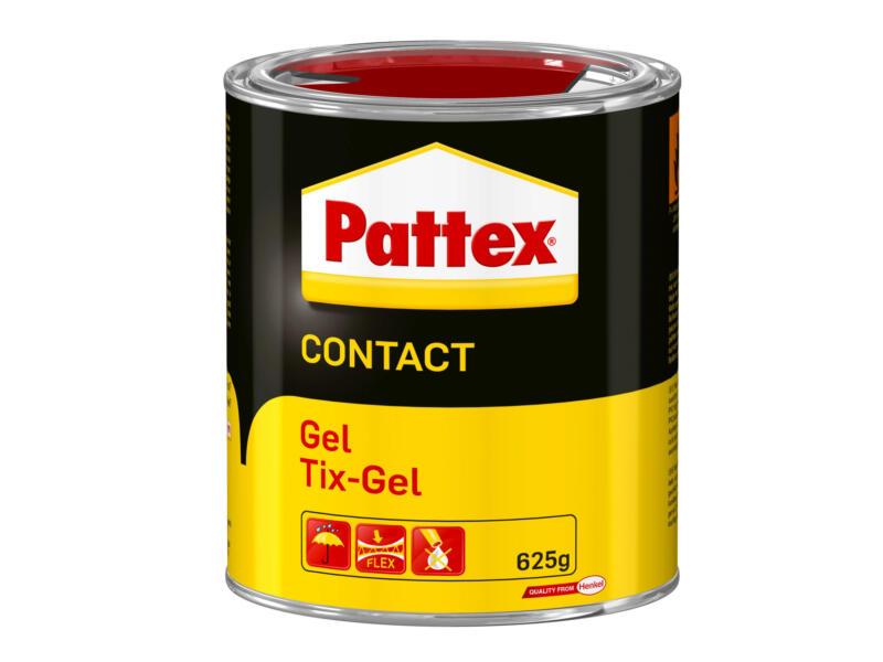 Pattex Pro Tix-Gel contactlijm 625g transparant
