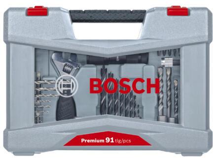 Bosch Pro X-Line boren- en schroefbitset 91-delig