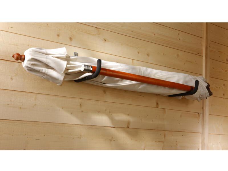 Mottez Pro XXL crochet de rangement antidérapant 35cm