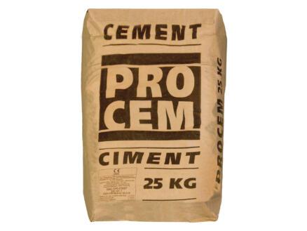 Procem ciment Portland 25kg gris