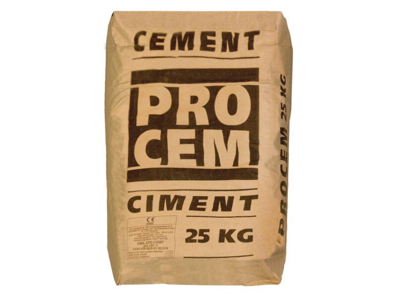 Procem portlandcement 25kg grijs