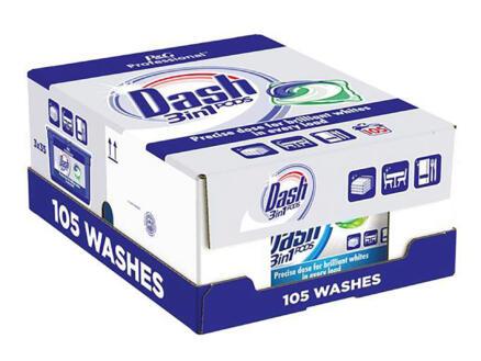 Dash Professional Regular 3-in-1 capsule lessive 105 tabs