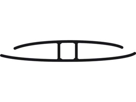 Scala Profil H 3m 10mm polycarbonate clair
