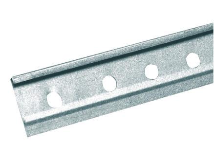 Profil d'angle 2,6m 40x6 mm acier