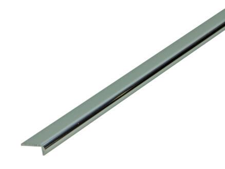 Arcansas Profil d'encadrement 1m 18mm aluminium brillant anodisé