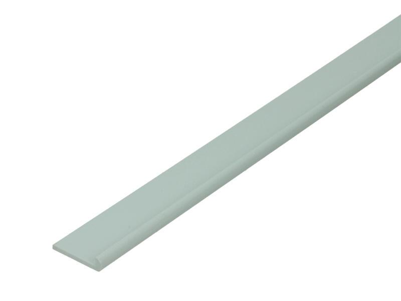 Arcansas Profil d'encadrement 1m 20x17 mm PVC blanc